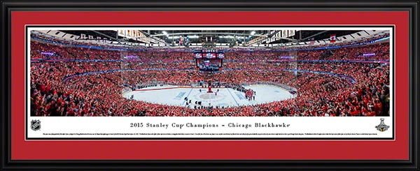 729cbea02b7 Father's Day Gift Idea: Chicago Blackhawks 2015 Stanley Cup Panoramic