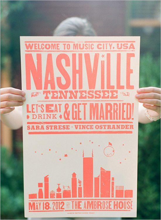 Poster Wedding Favor