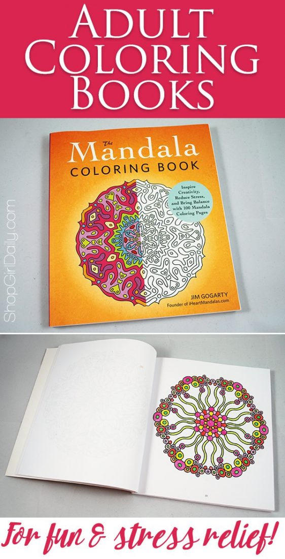Adult Coloring Books For Fun And Stress Relief