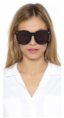 8e77434ba37 The Look for Less  Karen Walker Super Duper Thistle Sunglasses ...