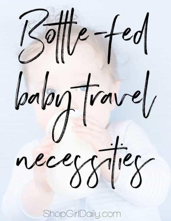 Bottle-fed baby travel necessities | ShopGirlDaily.com