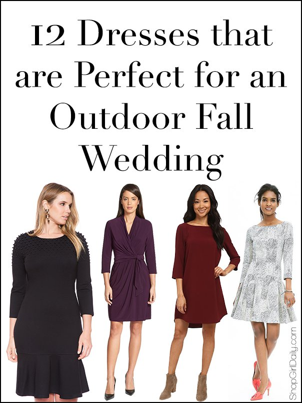 12 Dresses To Wear An Outdoor Fall Wedding Daily