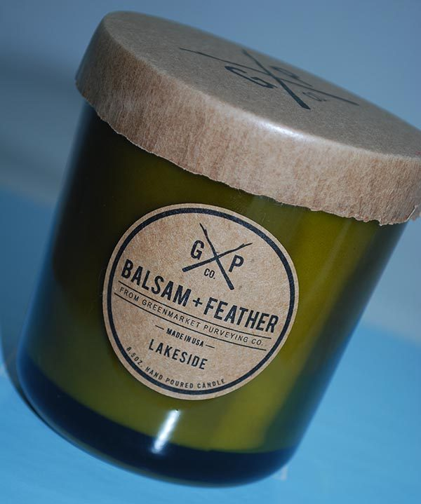 Balsam + Feather Candle