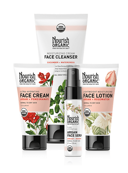 Nourish Organic Facial Line Signature Set