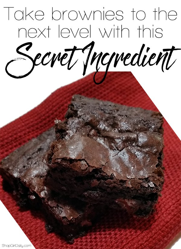 This secret ingredient will take your brownies to the next level | ShopGirlDaily.com