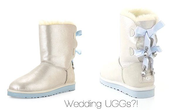 Have any of you ever wished that a pair of wedding UGGs were available for  your walk down the aisle  If so 56e066f24