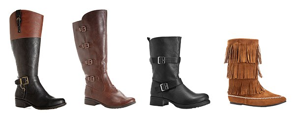 Wide Width Boots at Avenue