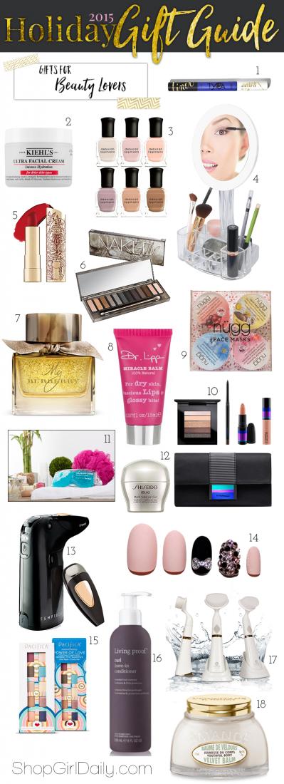 2015 Holiday Gift Guide: Beauty Gifts | ShopGirlDaily.com