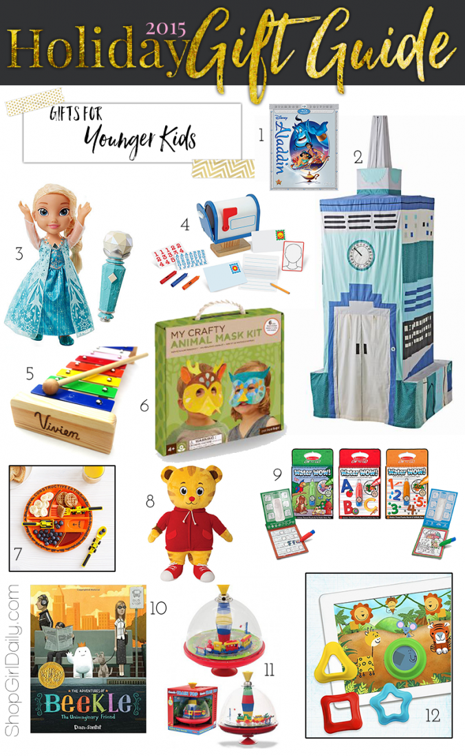 2015 Holiday Gift Guide: Gifts for Kids