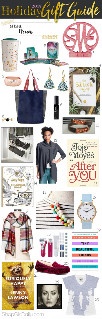 2015 Holiday Gift Guide: Gift for Women