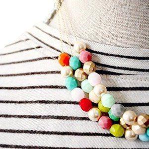 Gift Idea: Three Strand STatement Necklace