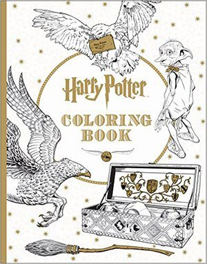 Gift Idea: Harry Potter Adult Coloring Book
