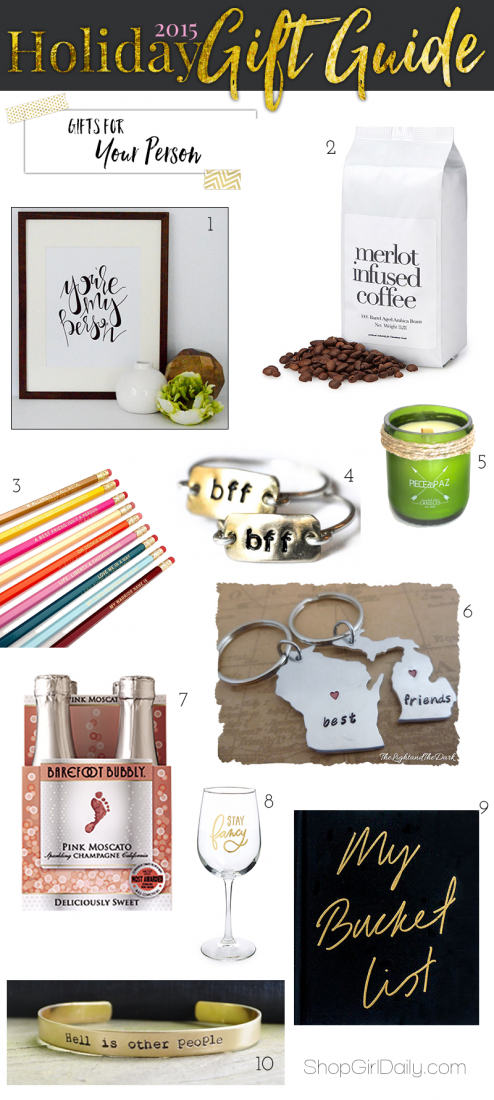 2015 Holiday Gift Guide: Gifts for your best friend | ShopGirlDaily.com