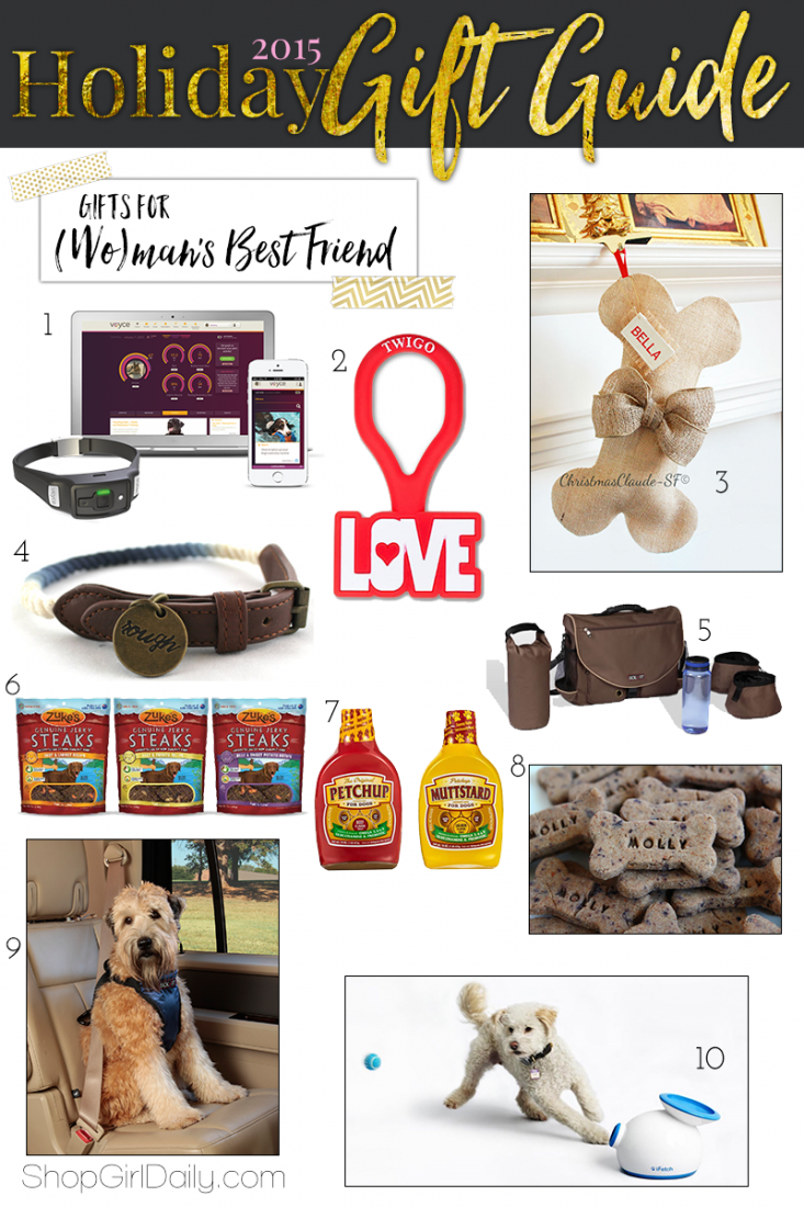 2015 Holiday Gift Guide: Gifts for Dogs