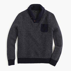 Gift Idea: Lambswool Jacquard Sweater from J.Crew