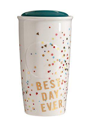 Gift Idea: Starbucks Best Day Ever Confetti Mug
