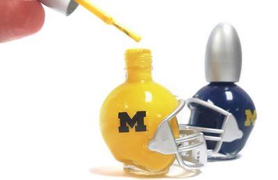 University Of Michigan Nail Polish