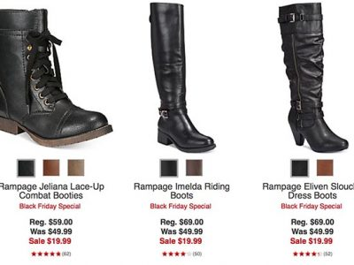 Macy's Black Friday Sale: $19.99 Boot Sale
