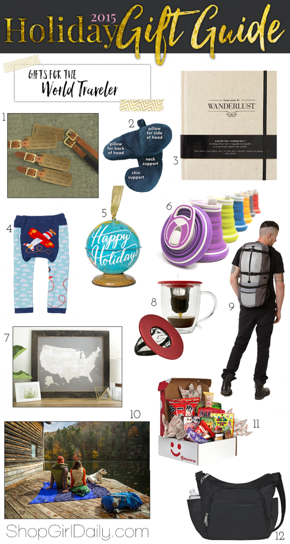 Travel Gifts | ShopGirlDaily.com 2015 Holiday Gift Guide