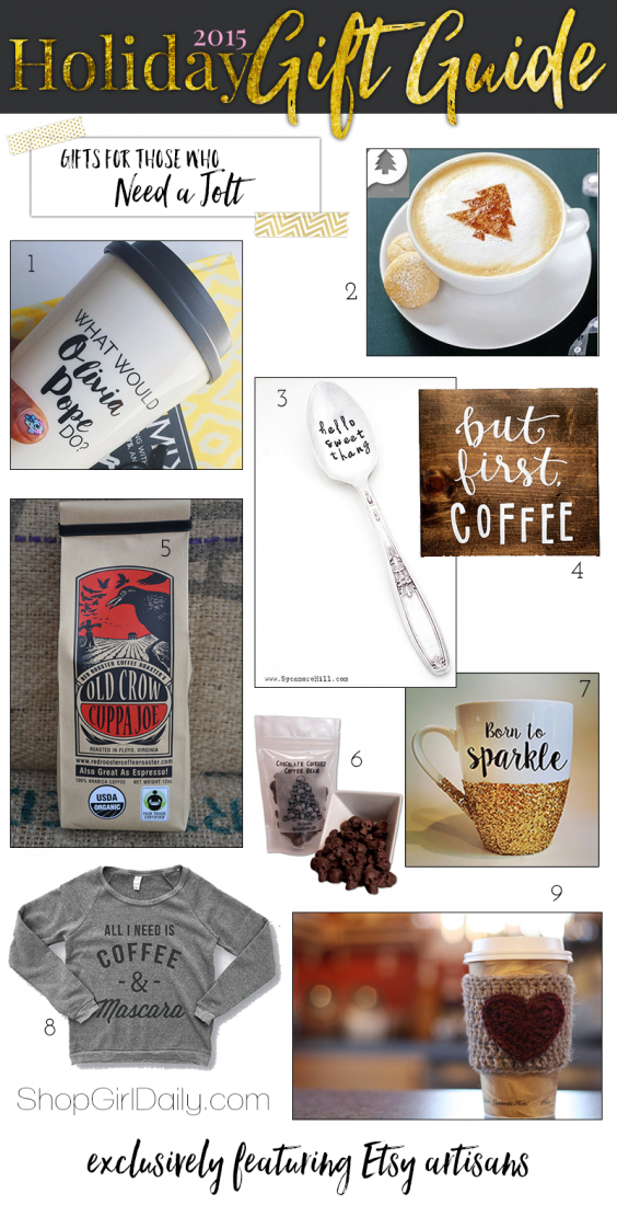2015 Holiday Gift Guide: Gifts for Coffee Lovers