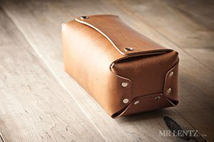 Gift Idea: Leather Toiletry Kit