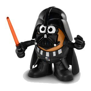 Darth Vader Mr. Potato Head | Gift ideas for Star Wars fans | ShopGirlDaily.com's 2015 Holiday Gift Guide