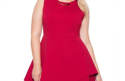 Plus Size Red Holiday Dress From Eloquii