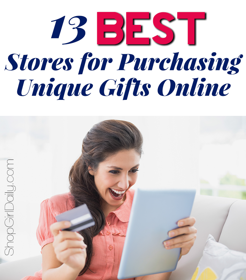 Online shopping for personalized gifts