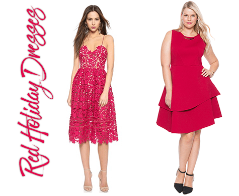 Red Holiday Dresses at all price points | ShopGirlDaily.com