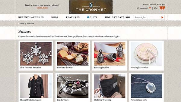 13 Unique Stores: The Grommet