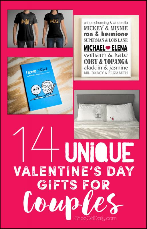 14 Unique Valentine's Day Gifts for Couples   ShopGirlDaily.com