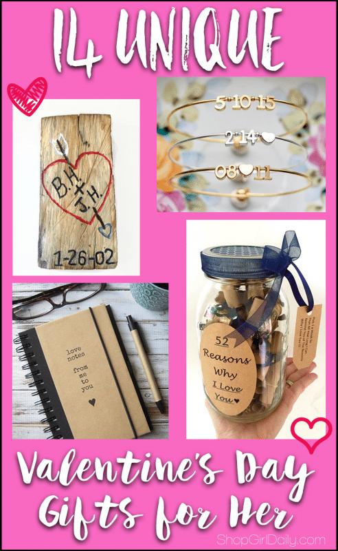 14 Unique Valentine's Day Gifts for Her   ShopGirlDaily.com