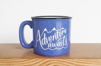 Adventure Awaits Mug From Wild & Free Designs