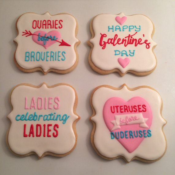 Must-Haves for your Galentine's Day Celebration: Galentine's Day Cookies