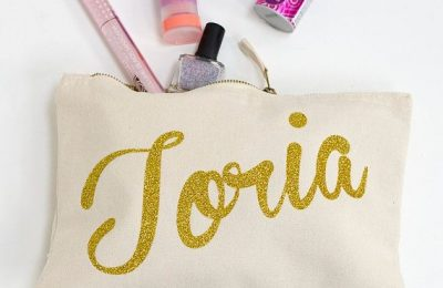 Galentine's Day Gift Ideas: Personalized Make Up Bag