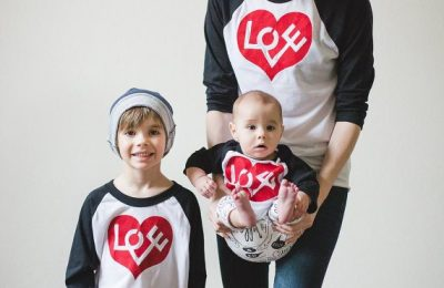 Valentine's Day Love Shirts From Plucky Mustard