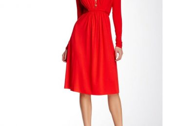 Red Maternity Dresses Will Look Great On Valentine's Day And At Your Baby Shower!