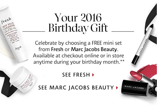 The Sephora 2016 Beauty Insiders Birthday Gift Is