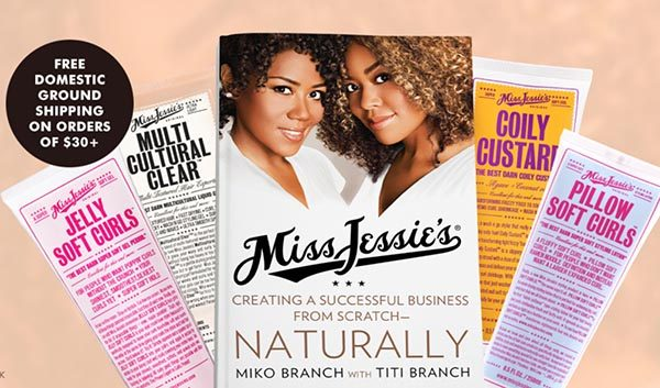 Miss Jessie's Curly Hair Products
