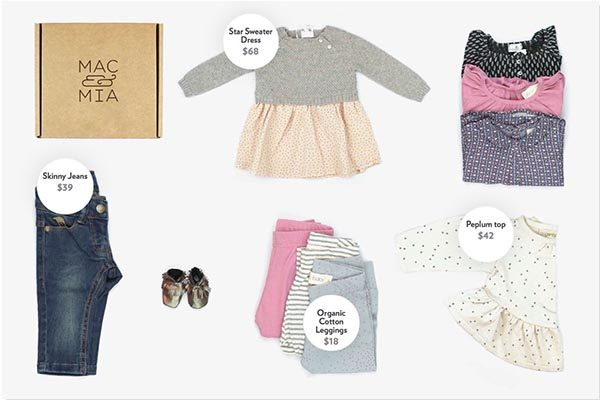 Mac and Mia - Clothing Subscription for Children