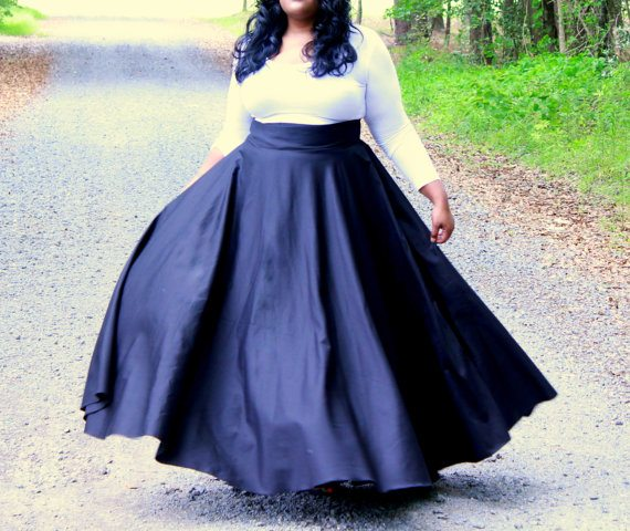 Plus Size Maxi Skirt from A Conversation Piece