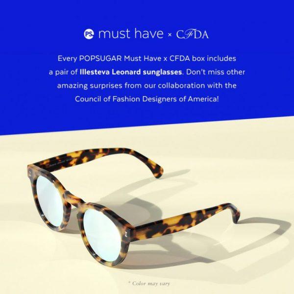 PopSugar Must Have CFDA