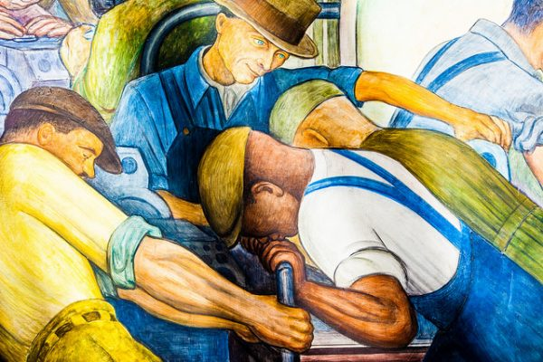 Detroit Industry by Diego Rivera