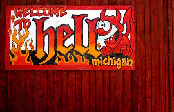 Michigan Bucket List: Hell Michigan