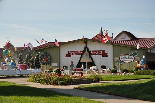 Michigan Bucket List: Bronner's Christmas Wonderland