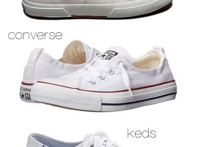 Summer Trends: Little White Sneakers