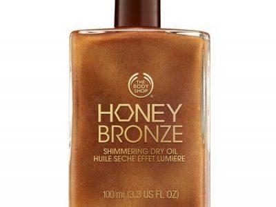 Honey Bronze Shimmering Dry Oil