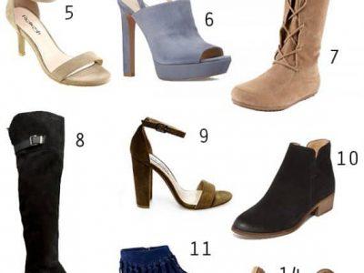 Suede Shoes For Fall | ShopGirlDaily.com