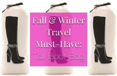 Fall & Winter Travel Must-Have: Tall Boot Bag