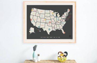 USA Travel Map